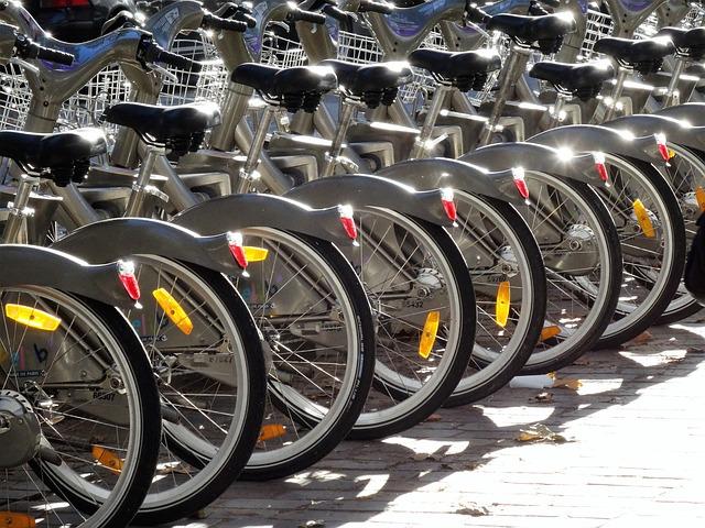 Les vélos en libre-service : mode d'utilisation